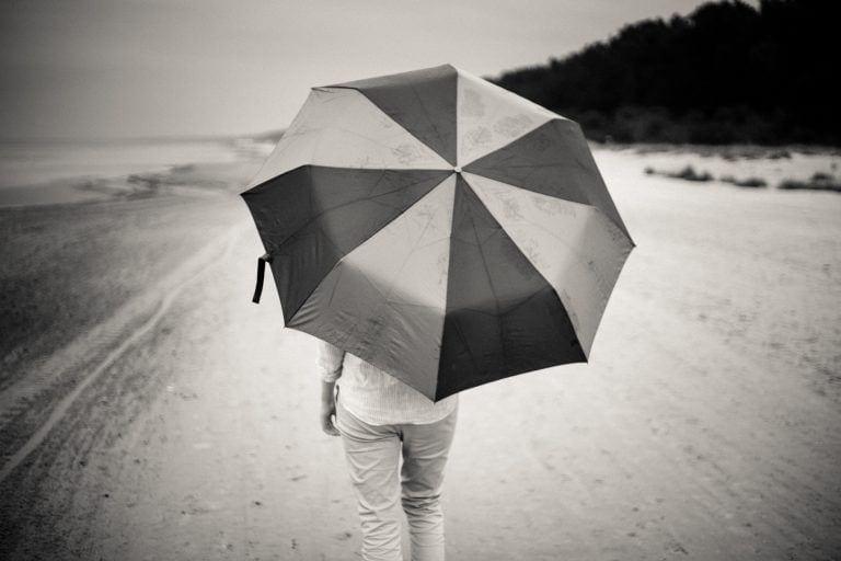 photo credit: barnimages.com Rainy day on the beach