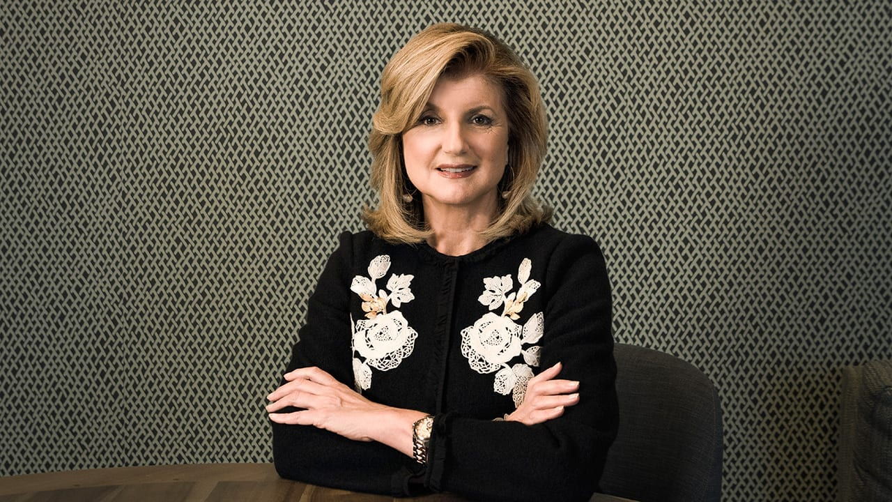 Media Titan Arianna Huffington on Lessons from Stoicism